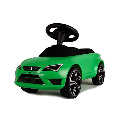 FERBEDO 051144 SEAT, leuchtgrün, Rutscher, Rutschfahrzeug, Kinderauto, Grün