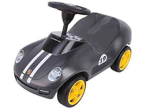 BIG Spielwarenfabrik 800056346 - Baby Porsche - Designt von den Porsche Design Studios, mit breiten Flüsterreifen und griffigem Lenkrad, Rutscher Auto, für Kinder ab 18 Monaten