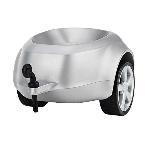 Anhänger für Audi Rutschautos, Silber