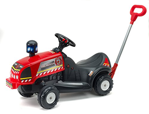 Falquet & CIE–3048p–Rutschauto Feuerwehrmann + Gehstock