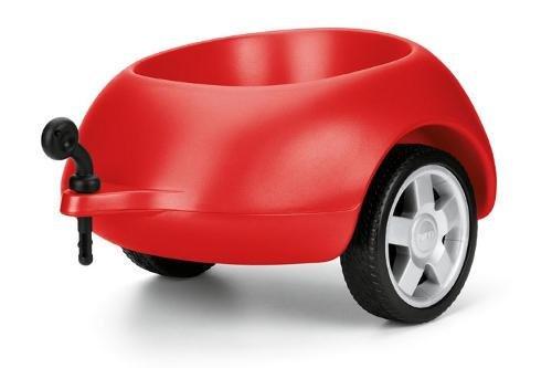 Anhänger für Audi Rutschautos, Rot