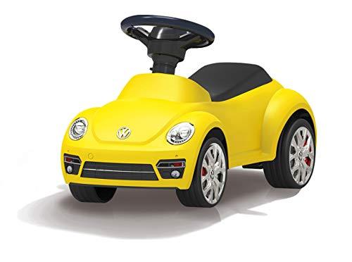 JAMARA 460408 - Rutscher VW Beetle - Kippschutz, Hupe am Lenkrad, originalgetreue Optik, gelb