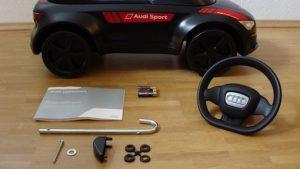 Audi Rutschauto Junior Quattro Motorsport Aufbau