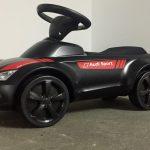 Audi Rutschauto Junior Quattro Motorsport Schwarz