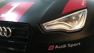 Audi Rutschauto Junior Quattro Motorsport Scheinwerfer