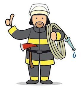 Feuerwehr Rutschautos