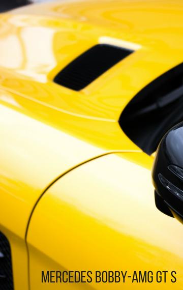 Mercedes Rutschauto Bobby-AMG GT S