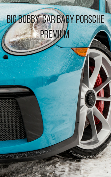 BIG Bobby-Car Baby Porsche Premium